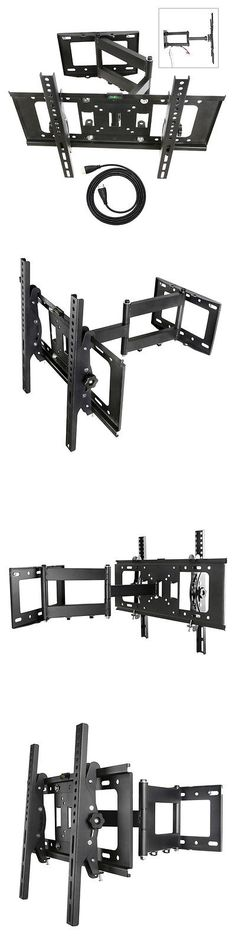 TV Mounts and Brackets: Full Motion Tv Wall Mount 32 39 40 42 50 55 60 63 65 For Samsung Vizio Lg Sony BUY IT NOW ONLY: $31.99