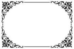 moldura para convite de casamento - Pesquisa Google Page Borders Design, Border Design, Borders For Paper, Borders And Frames, Personalised Postcards, Motif Oriental, Cut Image, Quilt Labels, Wood Burning Patterns