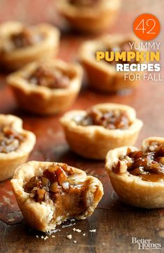 From starters to desserts we have all the pumpkin recipes you need to dazzle your holiday crowd. http://www.bhg.com/thanksgiving/recipes/pumpkin-recipes/?socsrc=bhgpin100613pumpkincheesecake