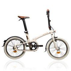 VELO Velos Vélos, cyclisme - VELO PLIANT TILT 740 Beige B'TWIN - Vélos