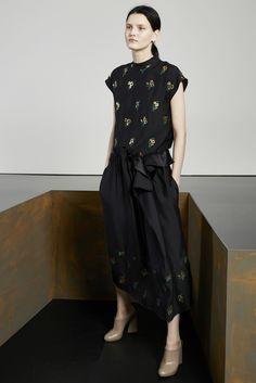 Asymmetric dress--Stella McCartney Pre-Fall 2015