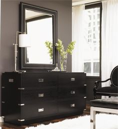 InStyle-Decor.com Beverly Hills Beautiful Black Ash Bedroom Furniture Your Welcome to Check Out Over 3,000 Luxury Hollywood Interior Design Inspirations To Pin, Share & Inspire Your iFriends Use Our Red Pinterest Speed Pin Button Top Of Each Page Enjoy & Happy Pinning