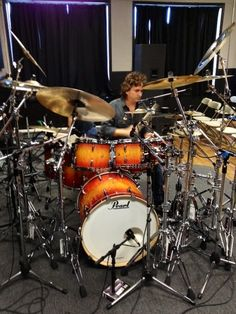 Todd Sucherman, Pearl Drums, Drum Kits, Drummers, Percussion, Musical Instruments, Musicians, Beautiful, Music Instruments