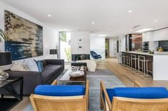 Michael and Karen Kramer's home in San Francisco, originally built in 1984, now given a contemporary remodel.  (c) Design Father