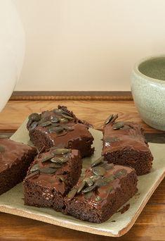 » Brownies à l'huile de coco et aux graines de courge | Clea cuisine