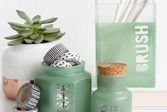 MY DIY   Sea Glass Supply Jars