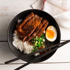 Marion's Kitchen is packed with simple and delicious Asian recipes and food ideas. Think Food, I Love Food, Good Food, Yummy Food, Steak And Rice, Asian Recipes, Healthy Recipes, Food Goals, Aesthetic Food