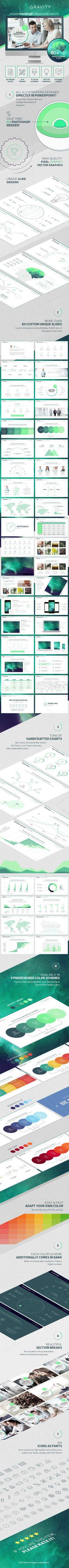 Gravity PowerPoint - Modern Presentation Template - Powerpoint Templates Presentation Templates