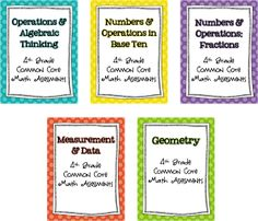 iTeach 1:1: Fourth Grade Common Core Assessment Binder and Updates to my Task Cards