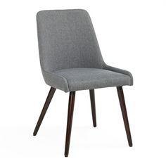 Worldwide Home Furnishings 202-247 !nspire Fabric Side Chair (Set of 2)