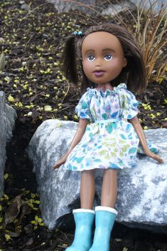 Peasant Dress and Top Sewing Pattern for 10 1/2 by PrettyGingham