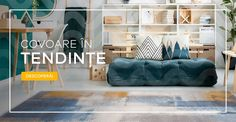 Covoare în tendințe - reducere 29% ! Modernism, Bean Bag Chair, Kids Rugs, Furniture, Vintage, Home Decor, Modern Architecture, Decoration Home, Kid Friendly Rugs