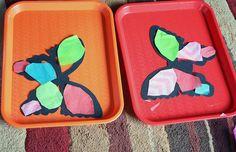 DIY Suncatcher Butterflies