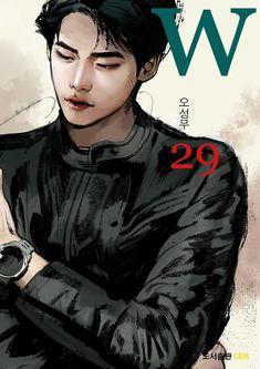 lee jong suk W Lee Jong Suk, Jong Hyuk, Lee Hyun, Hyun Suk, W Two Worlds Art, Between Two Worlds, Drama Film, Drama Movies, W Korean Drama