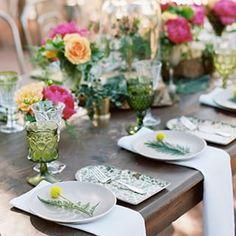 Wedding in San Luis Obispo | Tabletop design by Casa de Perrin