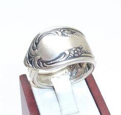 Nostalgischer antiker Silberring Gr.21,4 mm  SR178 von Atelier Regina auf DaWanda.com