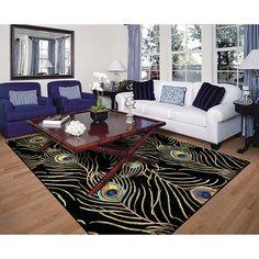 Peacock rug!