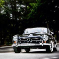 Mercedes-Benz #190SL Roadster. Photo kindly provided by @roycer9 via Statigram. For all your Mercedes Benz 190SL restoration needs please visit us http://www.bruceadams190sl.com/