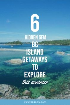 These hidden gems are the perfect escape from the city and all have their own unique and signature vibe. Columbia Travel, Columbia Road, British Columbia, Cool Places To Visit, Places To Travel, Little Ferry, Discovery Island, Western Canada, Vancouver Island