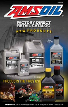 Amsoil FREE Catalog  AMSOIL Factory Direct Retail Catalog