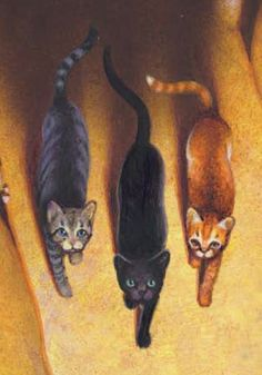 There will be three... kin of Firestar's kin... who will hold the power of the stars in their paws...