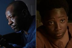 (The forgotten ones) The Walking Dead Season 3   Morgan and Duane Jones   From Season 1 <-- WHAT NOW!!?? NOOOO i like these guys!