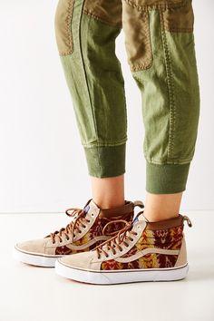 7b8c4f14dac174 Vans X Pendleton Sk8-Hi MTE Sneaker Tan Shoes
