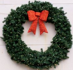 6 Foot LED Christmas Wreath - Pennsylvania - #6FootChristmasWreaths