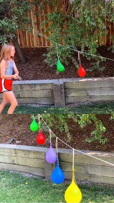 Outdoor Summer Activities, Toddler Activities, Backyard Games For Kids, Kids Outdoor Activities, Outdoor Party Games, Kids Outdoor Crafts, Outdoor Play Ideas, Outdoor Games For Preschoolers, Field Day Activities