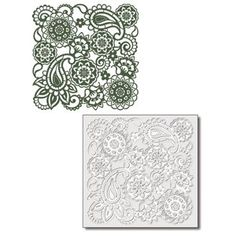 Viva Dcor 400600200 Paisley Background Stencil ** See this great product.Note:It is affiliate link to Amazon.