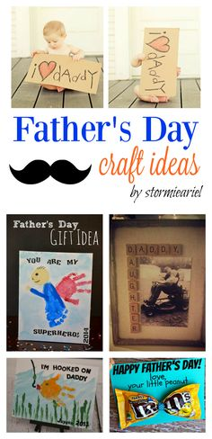 Gift Guide | Father's Day Craft Ideas