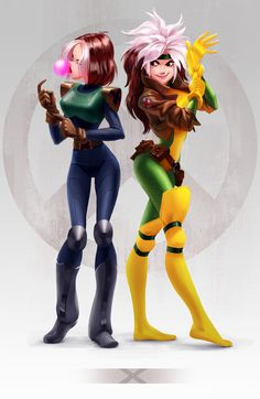 I always preferred the X-men: Evolution Rogue Marvel Comic Character, Comic Book Characters, Marvel Characters, Comic Books Art, Comic Art, Fictional Characters, Marvel Women, Marvel Girls, Comics Girls