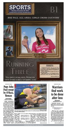 Kara Steinke was named the 2012 cross country girls runner of the year for the third year in a row. http://www.pottsmerc.com/article/20121231/SPORTS01/121239933/0/SEARCH/all-area-cross-country-methacton-s-steinke-wins-third-straight-honor