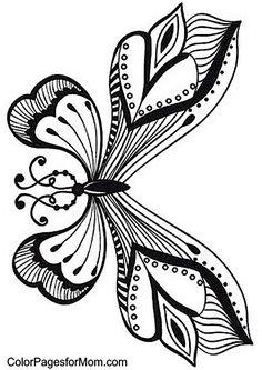 Unique Butterfly Coloring Book 90 Butterfly butterflies Pinterest
