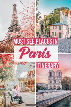 Paris Travel Guide 4 Days Get The Paris Travel Things To Do For All Seasons Paris Itinerary First Time Paris Itinerary Things To Do In 4 Days Get The Paris Itinerary Map Paris Travel Tips Eiffel Tower, Louver Museum, Packing Tips And Paris France Travel, Paris Travel Guide, Europe Travel Tips, Paris Tips, Travel Hacks, Travel Packing, Travel Destinations, 4 Days In Paris, Paris Things To Do