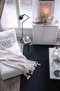 VM Carpet Monochrome Interior, White Houses, Carpet, Beige, Black And White, Living Room, Decoration, Inspiration, Home