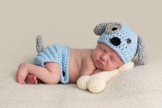 Sombrero perrito ganchillo perrito traje por emmascozyattic en Etsy