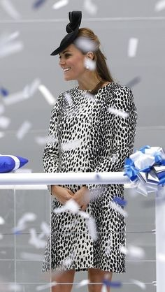Duchess Kate - The Duchess of Cambridge attends the Princess Cruises ship naming ceremony at Ocean Terminal on June 13, 2013 in Southampton, England.