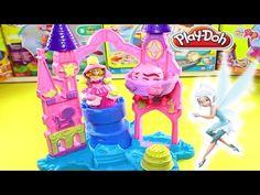 Play Doh Princess Rapunzel Play Dough Plastilina Princesa - YouTube