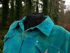 """""""SAN JUAN ISLANDS""""  Artistic Rock and Roll Inspired Bohemian Custom Clothing.   Currently offered for sale on Etsy shop:   ExperienceVintage1 Live A Little Pin Corduroy Cotton Blazer  by ExperienceVintage1, $80.00"""