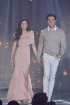 This is the lovely Alex Gonzaga and the handsome Joseph Marco walking on the ASAP stage during the Parade of Star Magic Talents during Star Magic Day and Star Magic 24th Anniversary on ASAP at ABS-CBN Studio 10 last July 31, 2016. Indeed, Alex and Joseph are another of my favourite Kapamilyas and they're amazing Star Magic talents. #AlexGonzaga #IAmAlexG #JosephMarco #StarMagic24 #starmagic24thanniversary #ASAP #ASAPMagicalSunday Magic Day, Star Magic, Joseph Marco, Alex G, July 31, Teen Actresses, Fashion Models, Red Carpet, Celebrity Style