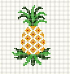 Thrilling Designing Your Own Cross Stitch Embroidery Patterns Ideas. Exhilarating Designing Your Own Cross Stitch Embroidery Patterns Ideas. Cross Stitch Fruit, Small Cross Stitch, Cross Stitch Charts, Cross Stitch Designs, Free Cross Stitch Patterns, Free Pattern, Loom Beading, Beading Patterns, Embroidery Patterns