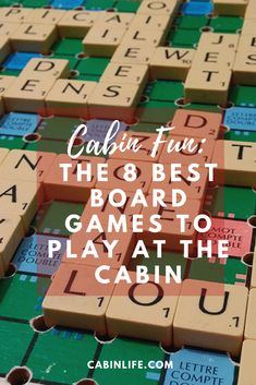 If the weather doesn't go as planned on your next cabin getaway, make sure you have these board games at the ready to stay unplugged. Fun Board Games, Games To Play, Cabin Activities, House Games, Double Play, Getaway Cabins, River House, Christmas Vacation, That Way