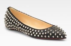 Even Christian Louboutin's flats are fierce