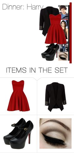 """""""Dinner with Harry"""" by dressingupwith1d ❤ liked on Polyvore featuring art, one direction, harry styles and harry"""