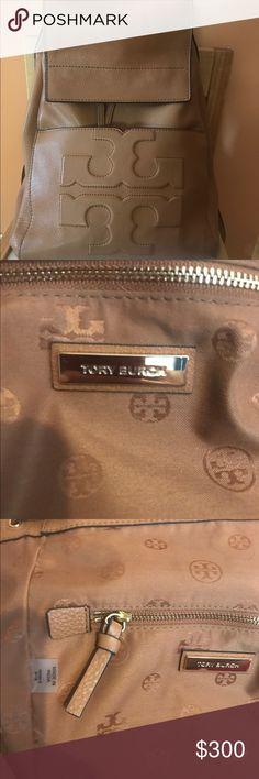 Tory Butch Backpacks leather Authentic Tory Butch Backpacks leather brown smoke free user worn no more then 10 times no wear n tear. Sorry no dust bag Tory Burch Bags Backpacks