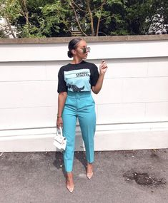Casual Trending Spring Outfits for Women Black Girl Fashion, Look Fashion, Fashion Outfits, Classy Outfits, Stylish Outfits, Look Blazer, Mode Streetwear, Looks Black, Fashion Killa