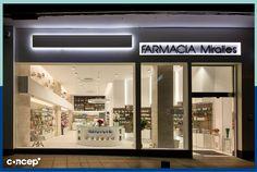 Farmacia Rodriguez Miralles Cantabria (Spain) #Concep· #Interiordesing #design #style #interior #deco #farmacia #pharmacy