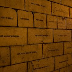 MOBSTR All in all, you're just another brick in the wall... * queue Pink Floyd * 10/4/15