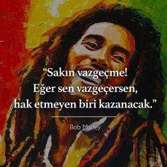Bu mevzuu her konuda önemlidir. Sevdiğiniz insanlardan seçtiğiniz siyasi insanlara kadar The Darkness, Leadership Quotes, Teamwork Quotes, Leader Quotes, Success Quotes, Happy Quotes, Positive Quotes, Positive Life, Best Bob Marley Quotes